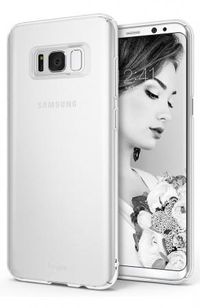 Husa Ringke Slim Frost White pentru Samsung Galaxy S8 Plus0