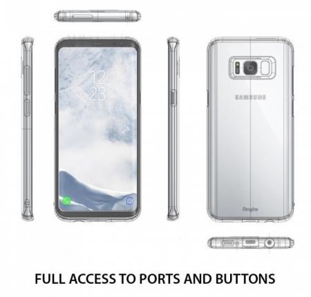 Husa Ringke Slim Royal Gold pentru Samsung Galaxy S8 Plus2