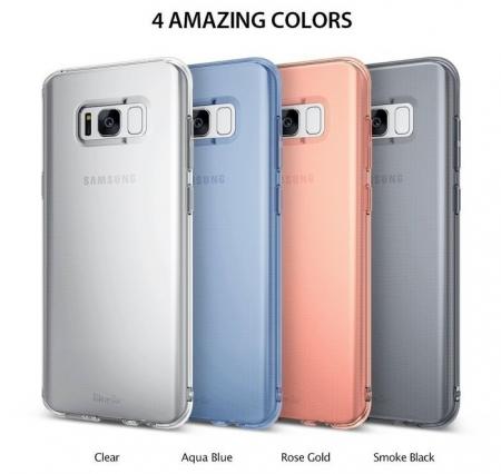 Husă Ringke Air Aqua Blue pentru Galaxy S85
