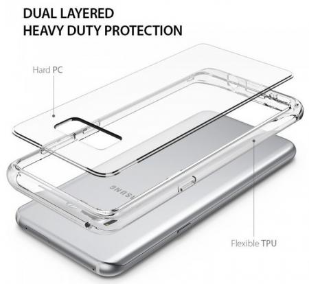 Husa Ringke Fusion Clear pentru Samsung Galaxy S81