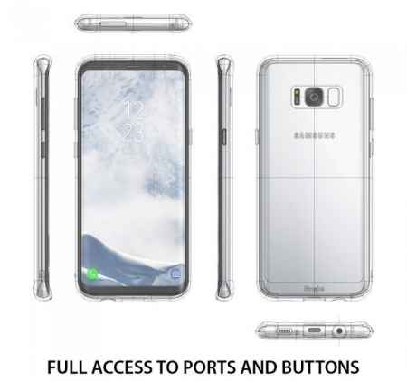 Husa Ringke Fusion Clear pentru Samsung Galaxy S83