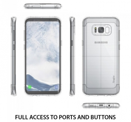 Husa Ringke Onyx Black pentru Samsung Galaxy S81