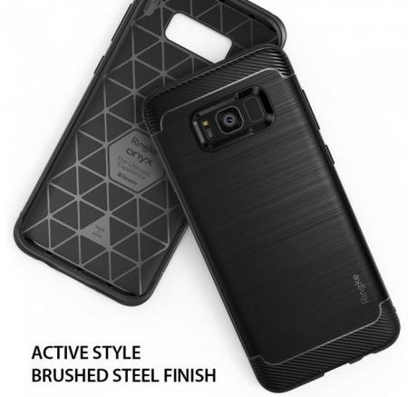 Husa Ringke Onyx Black pentru Samsung Galaxy S84