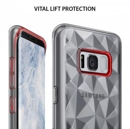 Husa Ringke Prism Clear pentru Samsung Galaxy S84