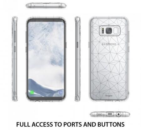 Husa Ringke Prism Ink Black penmtru Samsung Galaxy S82