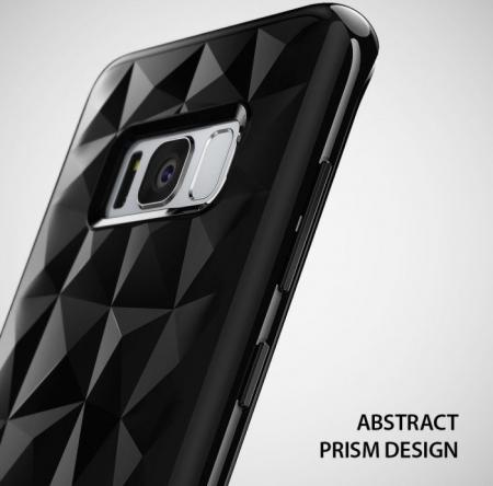 Husa Ringke Prism Rose Gold pentru Samsung Galaxy S83