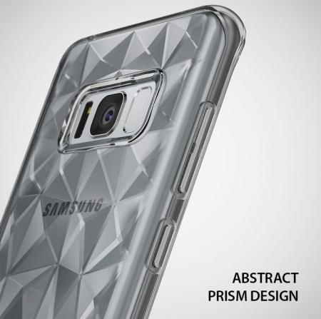 Husa Ringke Prism Smoke Black pentru Samsung Galaxy S85