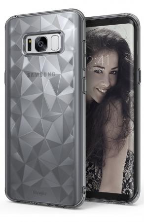 Husa Ringke Prism Smoke Black pentru Samsung Galaxy S80