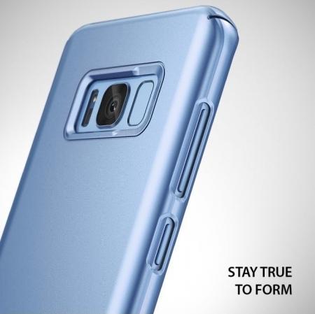 Husa Ringke Slim Blue Pearl pentru Samsung Galaxy S81
