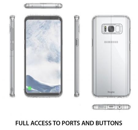 Husa Ringke Slim Frost pentru Samsung Galaxy S84