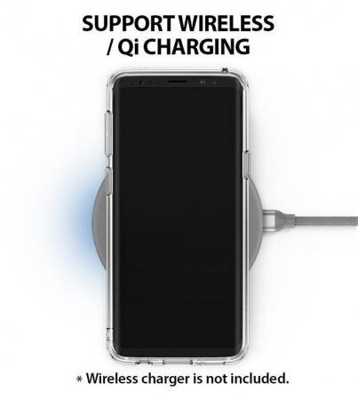 Husa Ringke Air Prism Black pentru Samsung Galaxy S9 Plus7
