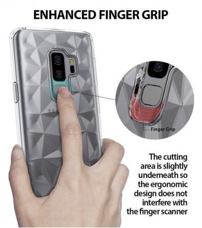 Husa Ringke Air Prism Grey pentru Samsung Galaxy S9 Plus0