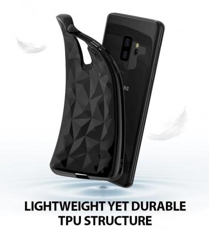 Husa Ringke Air Prism Black pentru Samsung Galaxy S9 Plus4