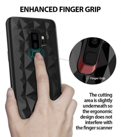 Husa Ringke Air Prism Black pentru Samsung Galaxy S9 Plus1