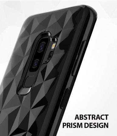 Husa Ringke Air Prism Black pentru Samsung Galaxy S9 Plus0
