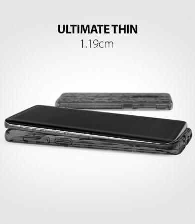 Husa Ringke Air Prism Grey Glitter pentru Samsung Galaxy S9 Plus6