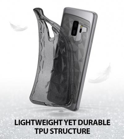 Husa Ringke Air Prism Grey Glitter pentru Samsung Galaxy S9 Plus4