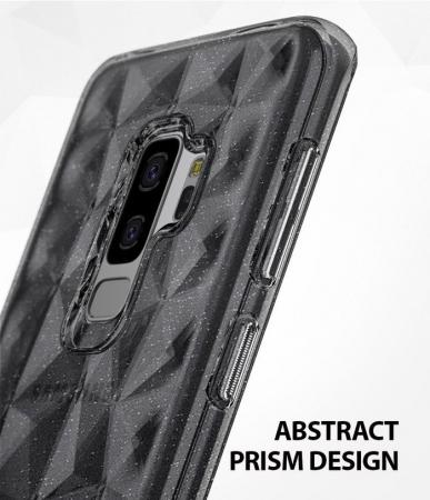 Husa Ringke Air Prism Grey Glitter pentru Samsung Galaxy S9 Plus2