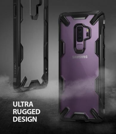 Husa Ringke FUSION X Mov pentru Samsung Galaxy S9 Plus1