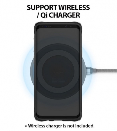 Husa Ringke FUSION X Mov Transparent pentru Samsung Galaxy S9 Plus5