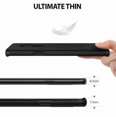 Husa Ringke Slim Black pentru Samsung Galaxy S9 Plus2