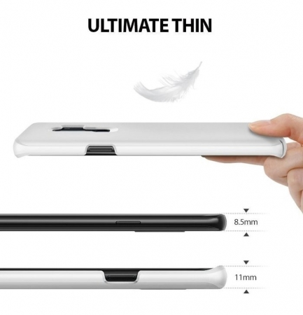 Husa Ringke Slim White pentru Samsung Galaxy S9 Plus3