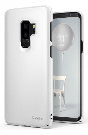 Husa Ringke Slim White pentru Samsung Galaxy S9 Plus2