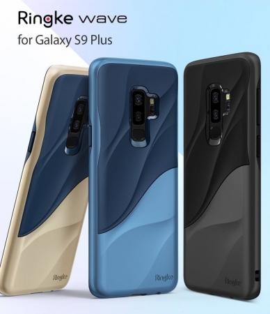 Husa Ringke Wave Blue Navy pentru Samsung Galaxy S9 Plus7