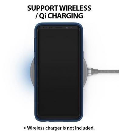 Husa Ringke Wave Blue Navy pentru Samsung Galaxy S9 Plus5