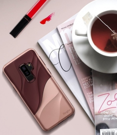 Husa Ringke Wave Rose pentru Samsung Galaxy S9 Plus5