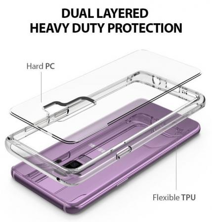 Husa Ringke Fusion Purple pentru Samsung Galaxy S94