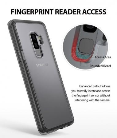 Husa Ringke Fusion Transparent-Fumuriu pentru Samsung Galaxy S93