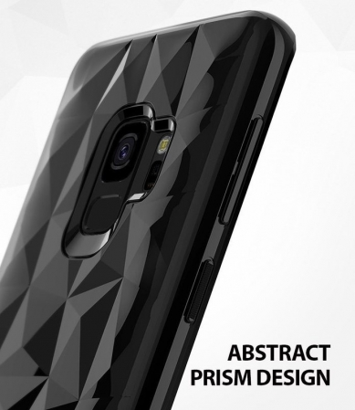 Husa Ringke Air Prism Black pentru Samsung Galaxy S93