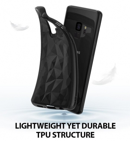 Husa Ringke Air Prism Black pentru Samsung Galaxy S92