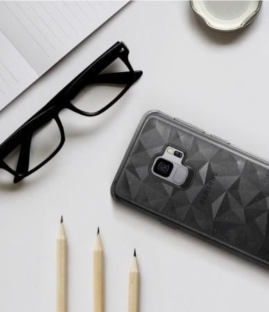 Husa Ringke Air Prism Grey Glitter pentru Samsung Galaxy S96