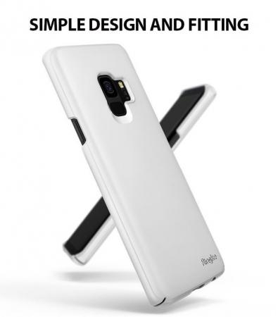 Husa Ringke Slim White pentru Samsung Galaxy S91