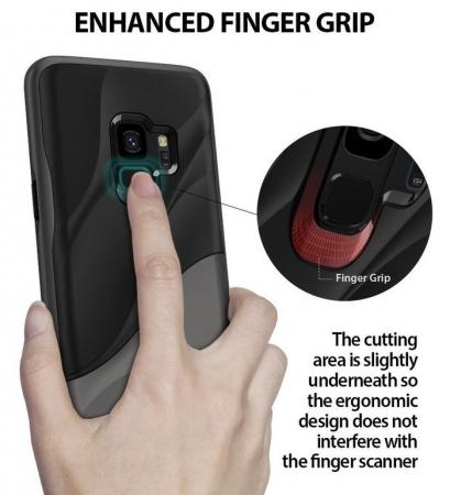 Husa Ringke Wave Black pentru Samsung Galaxy S95
