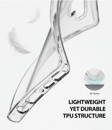 Set Ringke Air husa + portcard + strap albastru pentru Samsung Galaxy Note 91