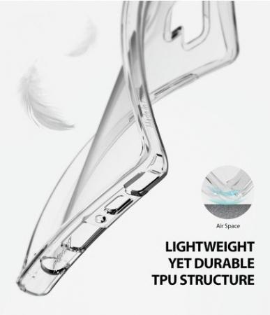 Set Ringke Air husa + portcard + strap negru pentru Samsung Galaxy Note 91