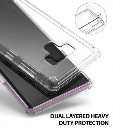 Husa Ringke Fusion Transparent Fumuriu pentru Samsung Galaxy Note 91