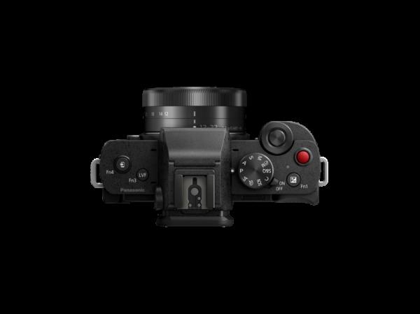 Panasonic Lumix DC-G100V cu obiectiv 12-32mm si grip wireless [4]