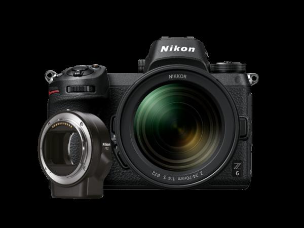Kit Nikon Z6 Mirrorless 24.5MP + FTZ + Obiectiv Nikkor Z 24-70mm 0