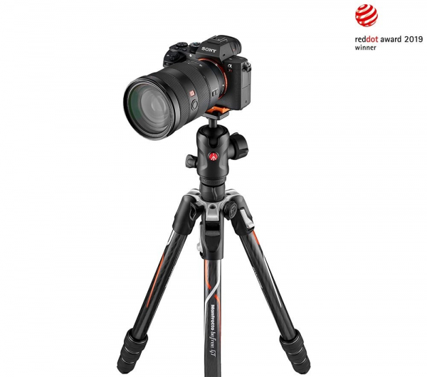 Manfrotto Befree GT Alfa Trepied foto carbon 1