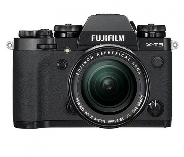 Fujifilm Kit Aparat Foto Mirrorless X-T3 cu obiectiv XF18-55mm X-Trans 4K/60p Negru 0