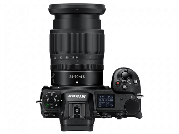 Kit Nikon Z6 Aparat Foto Mirrorless 24.5MP + Obiectiv Nikkor Z 24-70mm f4 S 1