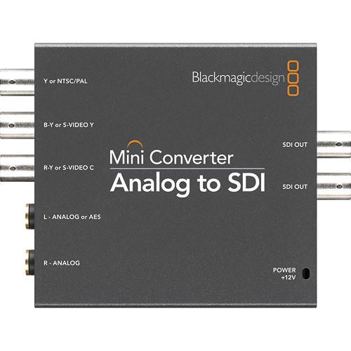 Blackmagic Design Mini Convertor Analog la SDI [1]