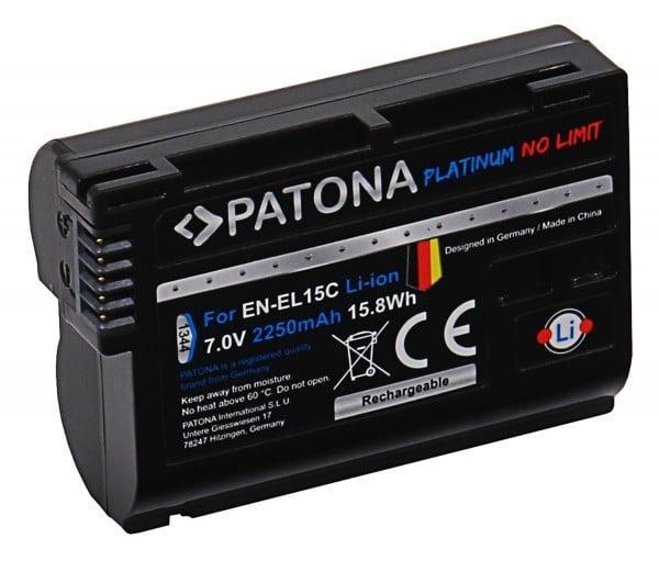 Patona Platinum EN-EL15C acumulator pentru Nikon Z [1]