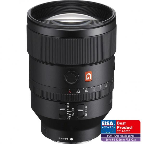 Sony Obiectiv Foto Mirrorless FE 135mm F1.8 GM [0]