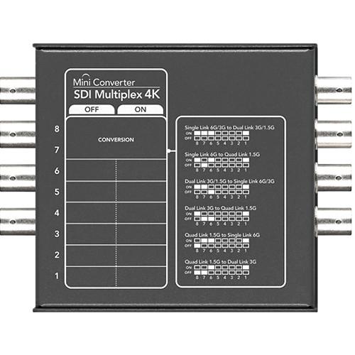 Blackmagic Design Mini Convertor SDI Multiplex 4K [1]