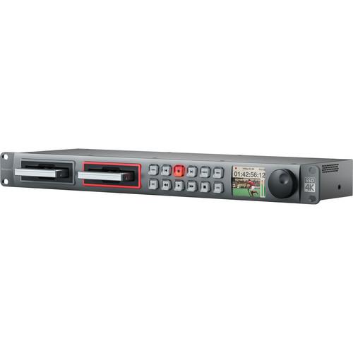 Blackmagic Design HyperDeck Studio Pro 2 recorder ssd broadcast ProRes DNxHD prefoesional HYPERD/ST/PRO2 [0]